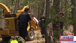 Horror: Man Ends Up Dead After Falling Into a Wood Chipper in Front of His Friends While Clearing Trees